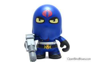 Hooded Cobra Commander GI Joe Series 1 The Loyal Subjects Front