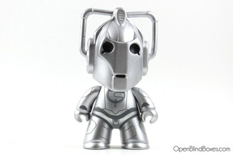 Cyberman Doctor Who Titans Series 1 Front