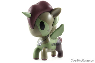 Sergeant Rumble Tokidoki Unicorno Series 2 Left