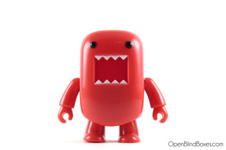 Red Domo Qee Series 1 Toy2R Front