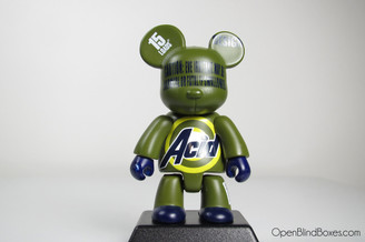 Acid Green Qee Series 4 UK Toy2R Front