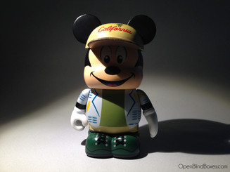Mickey Disney California Adventure Park Series 11 Vinylmation Front