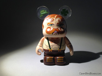 Patty McPunchface Extreme Wrestlers Of Vinylmation Front
