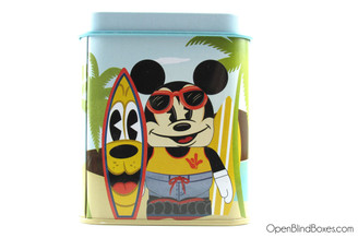 Mickey Surfs Tin Vinylmation Front
