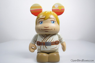 Luke Skywalker Vinylmation Star Wars Series 2 Front