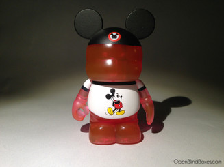 Red Shirt Theme Park Favorites Vinylmation Front