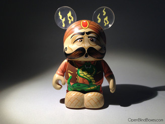 Snake Charmer Under The Big Top Vinylmation Front