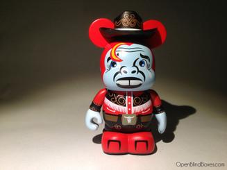 Cowboy Urban Redux Vinylmation Front