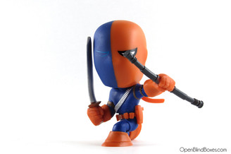 Deathstroke DC Super Heroes Mystery Minis Funko Front