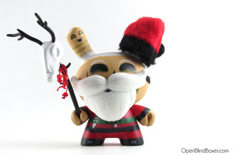 Saner Santa Barbaja Holiday Dunny Kidrobot Front
