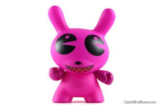 Dalek Pac Man Pink Dunny Kidrobot Front