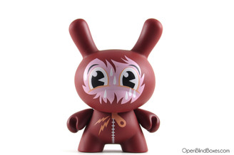 Jeremyville Trapped In A Bear Suit Endangered Dunny Kidrobot Front
