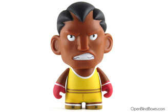 Yellow Balrog Player 2 Street Fighter Series 1 Kidrobot Front
