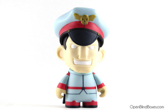 M. Bison Player 2 Street Fighter Series 1 Kidrobot Front