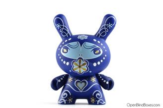 Catalina Estrada Blue Fatale Dunny Kidrobot Front