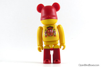 Spain Flag Be@rbrick Series 19 Medicom Front