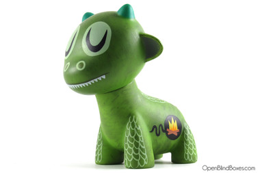 Dragon Scout Master Raffy Ferals Amanda Visell Kidrobot Front