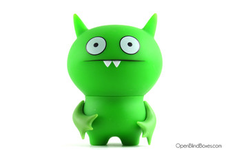 Green Poe Uglydoll Action Figures Series 2 David Horvath Front