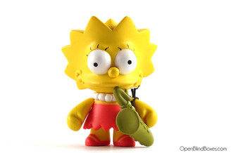 Lisa Simpsons Series 1 Kidrobot Front