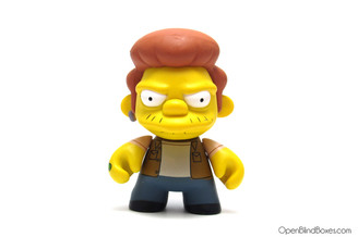 Snake Simpsons Series 1 Kidrobot  No Accessories Front