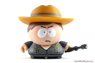 Border Patrol Many Faces Of Cartman Kidrobot South Park Front