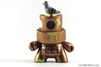Pon Feed The Pigeons Fatcap Series 2 Kidrobot Front