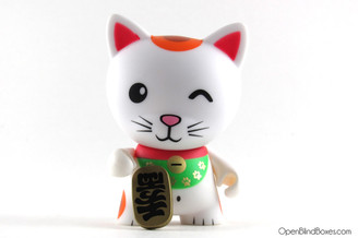 Lucky Tricky Cats Kidrobot Front
