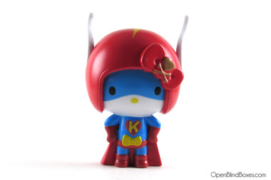 Super Hero Hello Kitty Tokidoki Front