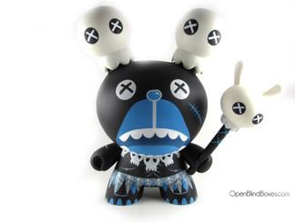 Zulu Mong Bear 8 Inch Dunny Ilovedust Kidrobot Front