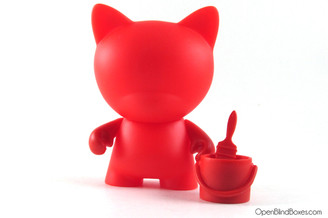 Red Trikky Multicolor Munnyworld Kidrobot Front