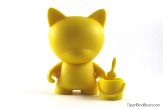 Yellow Trikky Multicolor Munnyworld Kidrobot Front