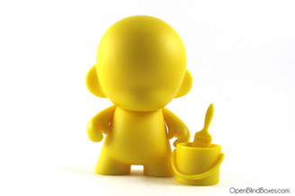 Yellow Munny Multicolor Munnyworld Kidrobot Front