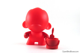Foomi Red Multicolor Munnyworld Kidrobot Front