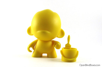 Foomi Yellow Multicolor Munnyworld Kidrobot Front