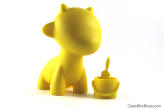 Raffy Yellow Multicolor Munnyworld Kidrobot Front