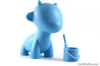 Raffy Blue Multicolor Munnyworld Kidrobot Front
