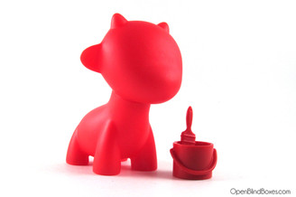 Raffy Red Multicolor Munnyworld Kidrobot Front