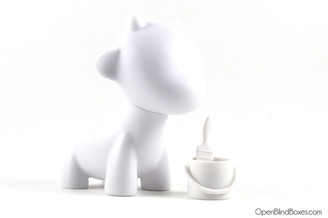 Raffy White Multicolor Munnyworld Kidrobot Front