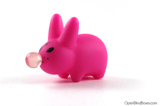 Bubblegum Pink Smorkin Labbit 4 Frank Kozik Kidrobot Left