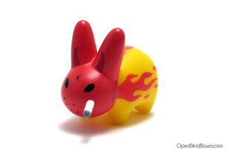 Flames Mini Smorkin Labbit Series 3 Frank Kozik Left