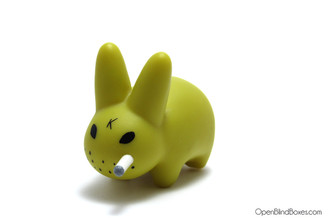 Mustard Mini Smorkin Labbit Series 3 Frank Kozik Left