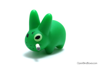 Florescent Green Smorkin Labbit Series 2 Frank Kozik Left
