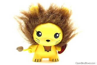 Chuckboy Lion Endangered Dunny Kidrobot Front