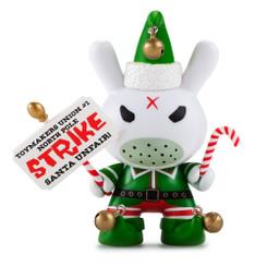 Frank Kozik Holiday 2015 Dunny Elf On Strike