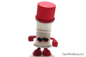 Mad Racked Red Bent World Spray Cans Kidrobot Front