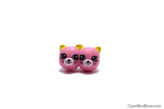 Earring Twins Pink Shopkins Season 4 Moose Front