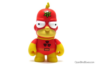 Radioactive Man The Simpsons 25th Kidrobot Front