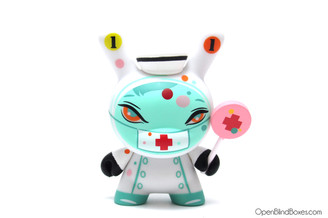 #11 Nurse Casket Dunny Brandt Peters The 13 Kidrobot Front