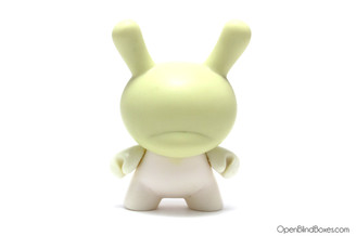 Blank Stripped 3 Inch Dunny Kidrobot Front
