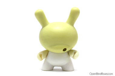 Blank Stripped 3 Inch Dunny Kidrobot Mouth Front